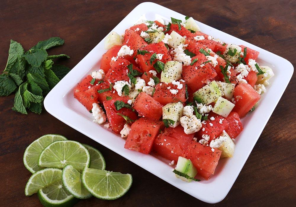 Melon and Cucumber Salad - Leites Culinaria Recipe   Leites Culinaria
