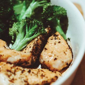 Grilled Chicken Breasts With Lemon Broccoli Green Bean Blog