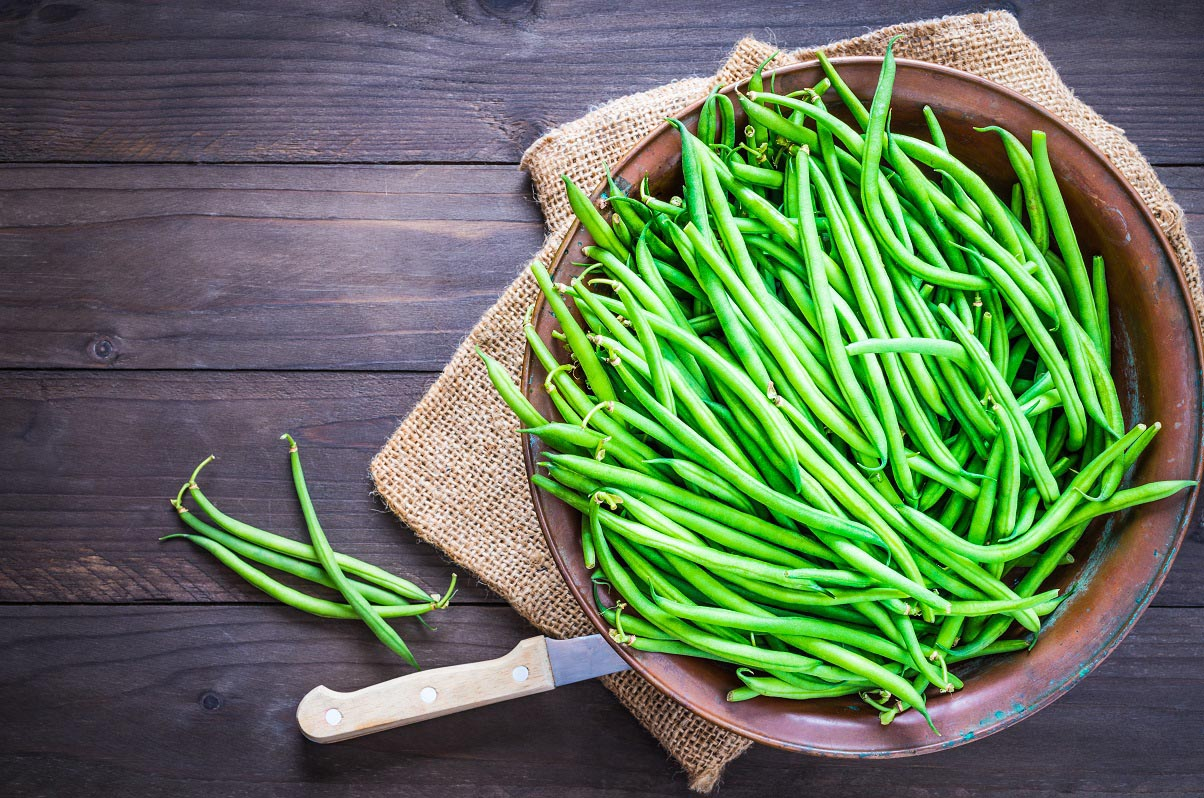 Green Bean and Baby Kale Salad with Shallot Vinaigrette ... - photo#46