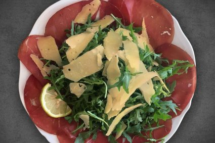 Bresaola and Arugula Salad