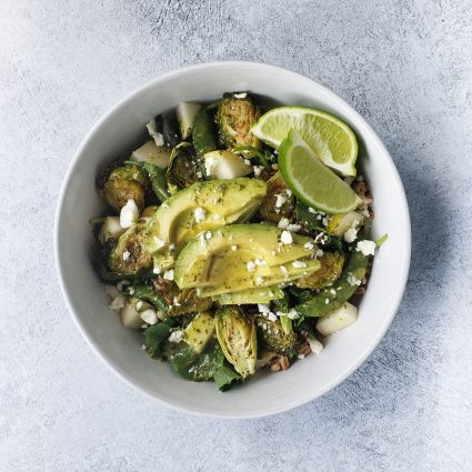 Green Grain Salad with Herb Vinaigrette