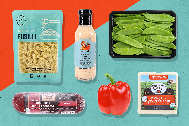 Fusilli Summer Pasta Salad